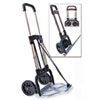 STEBCO Portable Slide-Flat Cart, 275lbs, 18 3/4 x 19 x 40, Black/Chrome
