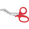 "Westcott Stainless Steel Office Snips, 7"" Long, Red"
