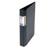 Quick Fit D-Ring Binder, 1&quot; Capacity, Black