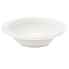 Bagasse 16 oz Bowl, White, 100/Pack