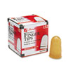 Rubber Finger Tips, Size 12, Medium/Large, Amber, 1/Dozen