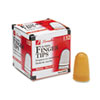 Rubber Finger Tips, Size 11 1/2, Medium, Amber, 1/Dozen