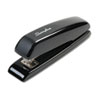 Durable Full Strip Desk Stapler, 20-Sheet Capacity, Black