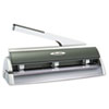 Swingline Optima Low Force Two- and Three-Hole Punch, 20-Sheet Capacity, Silver
