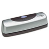 Swingline 15-Sheet Electric Portable Desktop Punch, Silver/Black