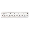 Westcott See Through Acrylic Ruler, 12