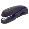 Optima Desk Stapler, 25-Sheet Capacity, Blue