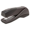 Optima Grip Compact Stapler, 25-Sheet Capacity, Graphite