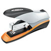 Optima Desktop Stapler, 70-Sheet Capacity, Silver/Orange/Black