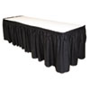 Tablemate Table Set Linen-Like Table Skirting, 29