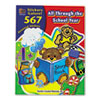 Sticker Book, All Through the School Year, 567/Pack
