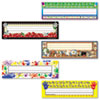 Jumbo Nameplates, Assorted, 11 1/2&quot; x 3 1/2&quot;, 216/Pack