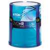TDK DVD+R Discs, 4.7GB, 16x, Spindle, 100/Pack