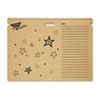 File 'n Save System Chart Storage Folder, 30-1/2 x 22-1/2, Bright Stars Design