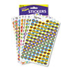 TREND SuperSpots and SuperShapes Sticker Variety Packs, Positive Praisers, 2,500/Pack