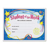 TREND Student of the Week Certificates, 8-1/2 x 11, White Border, 30/Pack