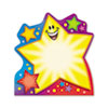Note Pad w/Super Star Design, 5 x 5, 50 Sheets/Pad