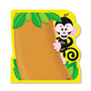 Note Pad w/Monkey Design, 5 x 5, 50 Sheets/Pad, Each