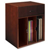Sorrento Vertical Hutch Organizer, 17½w x 12½d x 19¾h, Bourbon Cherry