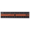 Westcott KleenEarth Recycled Plastic Ruler With Microban Protection, 12""