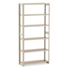 Regal Shelving Add-On Unit, 6 Shelves, 36w x 12d x 76h, Sand