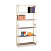 Regal Shelving Starter Set, 6 Shelves, 36w x 15d x 76h, Sand
