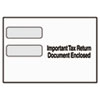 "Double Window Tax Form Envelope/1099R/Misc Forms, 9"" x 5-5/8"", 24/Pack"