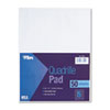 Quadrille Pads, 5 Squares/inch, 8-1/2 x 11, White, 50 Sheets/Pad