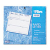Rapid Letter Message Memos Form, 8 1/2 x 7, Three-Part Carbonless, 50 Forms