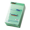 Prism Plus Colored Jr. Legal Pads, 5 x 8, Green, 50-Sheet Pads, 12/Pack