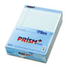 Prism Plus Colored Pads, Legal Rule, Letter, Blue, 50-Sheet Pads, 12/Pack