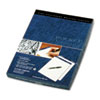 Docket Diamond Litigation Ruled Pad, 8-1/2 x 11-3/4, Ivory, 50-Sheet, 2 Pads/Box