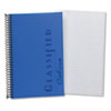 TOPS Notebook w/Blue Cover, Narrow Rule, 5-1/2 x 8-1/2, White, 100 Sheets/Pad