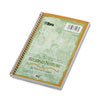 TOPS Second Nature Subject Wirebound Notebook, Narrow, 5 x 8, White, 80 Sheets