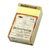 Second Nature Recycled Pad, Jr. Legal, 5 x 8, Canary, 50 Sheets per Pad, Dozen
