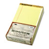 Second Nature Recycled Pad, Legal/Margin Rule, Legal, Canary, 50-Sheet, Dozen