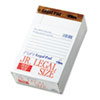 The Legal Pad Jr. Ruled Perforated Pads, 5 x 8, White, 50 Sheet Pads, 12/Pack