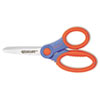 "Soft Handle Kids Scissors with Microban Protection, 5"" Blunt"