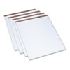 Easel Pads, Quadrille Rule, 27 x 34, White, 50-Sheet Pads, 4 Pads/Carton