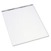 TOPS Second Nature Easel Pads, Unruled, 27 x 34, White, 3 50-Sheet Pads/Carton