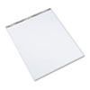 Second Nature Easel Pads, 1in Quadrille Rule, 27 x 34, White, 50-Sheet, 3/Carton