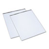 TOPS Second Nature Easel Pads, Unruled, 27 x 34, White, 2 35-Sheet Pads/Carton