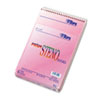 Spiral Steno Notebook, Gregg Rule, 6 x 9, Pink, 4 80-Sheet Pads/Pack