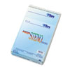 TOPS Spiral Steno Notebook, Gregg Rule, 6 x 9, Blue, 4 80-Sheet Pads/Pack