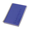 TOPS Classified Colors Notebook, Narrow, 5-1/2 x 8-1/2, Orchid, 100 Sheets
