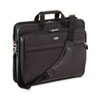 Laptop Case, Leather, 17-1/2 x 6-1/2 x 13-1/2, Black
