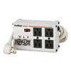 Tripp Lite ISOBAR4ULTRA Isobar Surge Suppressor, Metal, 4 Outlet, 6ft Cord, 3330 Joules
