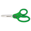 "KleenEarth Recycled Kids Scissors With Microban Protection, 5"" Blunt"