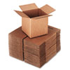 Universal Corrugated Kraft Fixed-Depth Shipping Carton, 6w x 6l x 6h, Brown, 25/Bundle