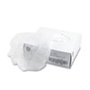Disposable Hair Net, Spun-Bonded Polypropylene, White, 100/Pack